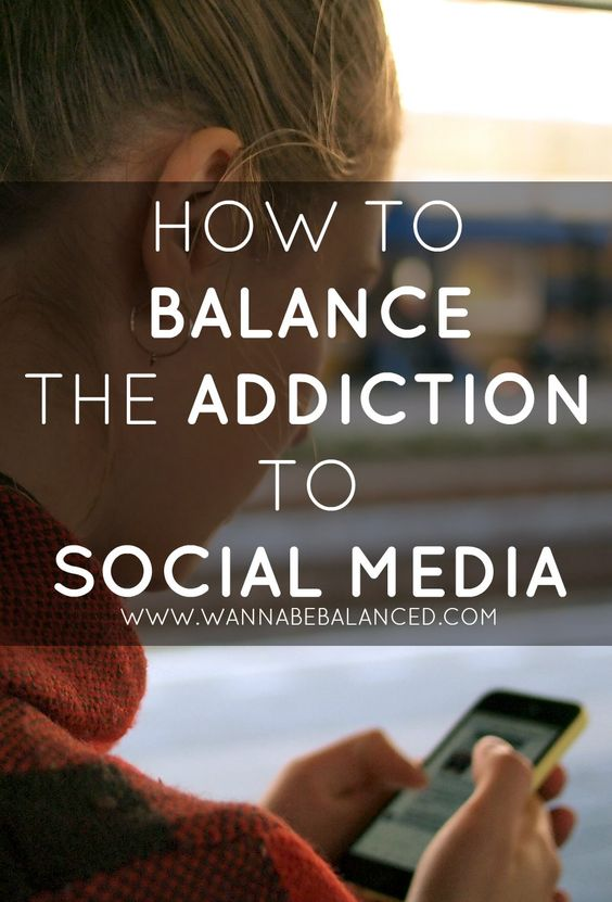 How To Balance The Addiction To Social Media