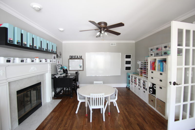 Homeschool Room Ideas: Our Unbelievable Homework Station Remodel