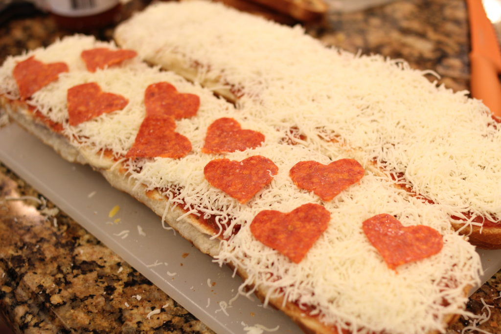 family valentines day dinner idea