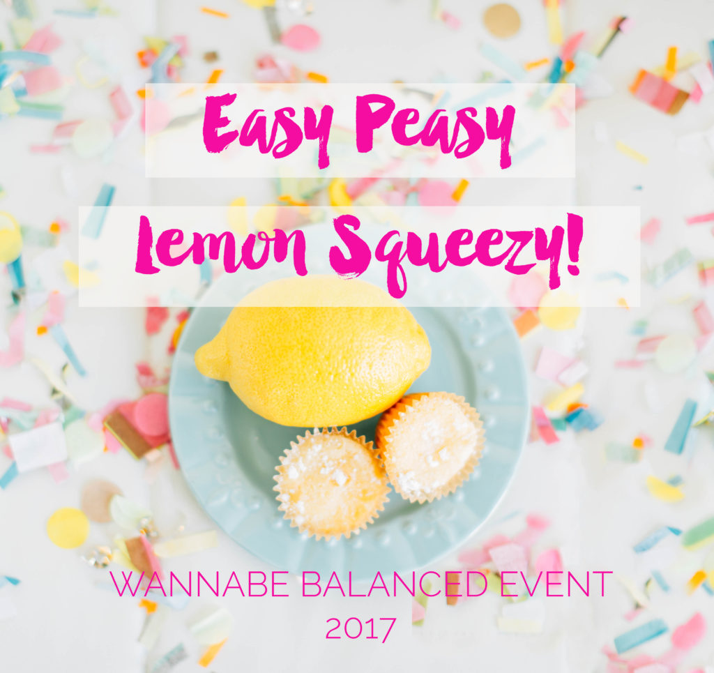 Time ti party! Wannabe Balanced Event Schedule by lifestyle blogger Crystal from Wannabe Balanced Mom
