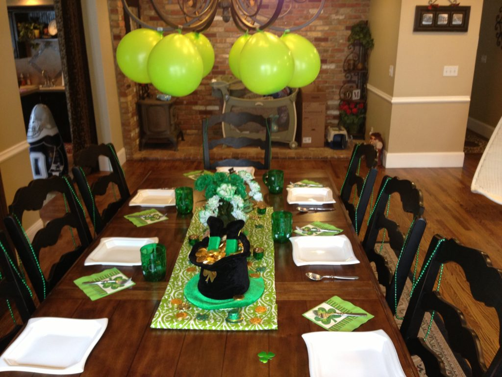 St Patrick Day Activities: Irish Dinner