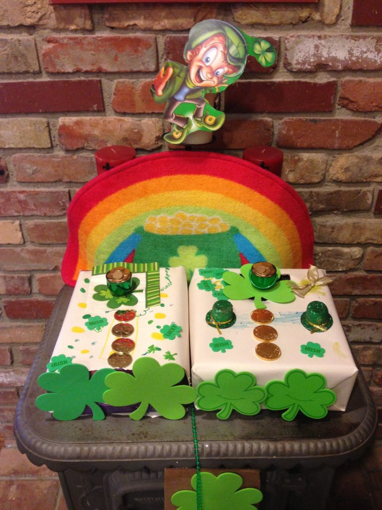 St Patrick Day Activities: Leprechaun trap