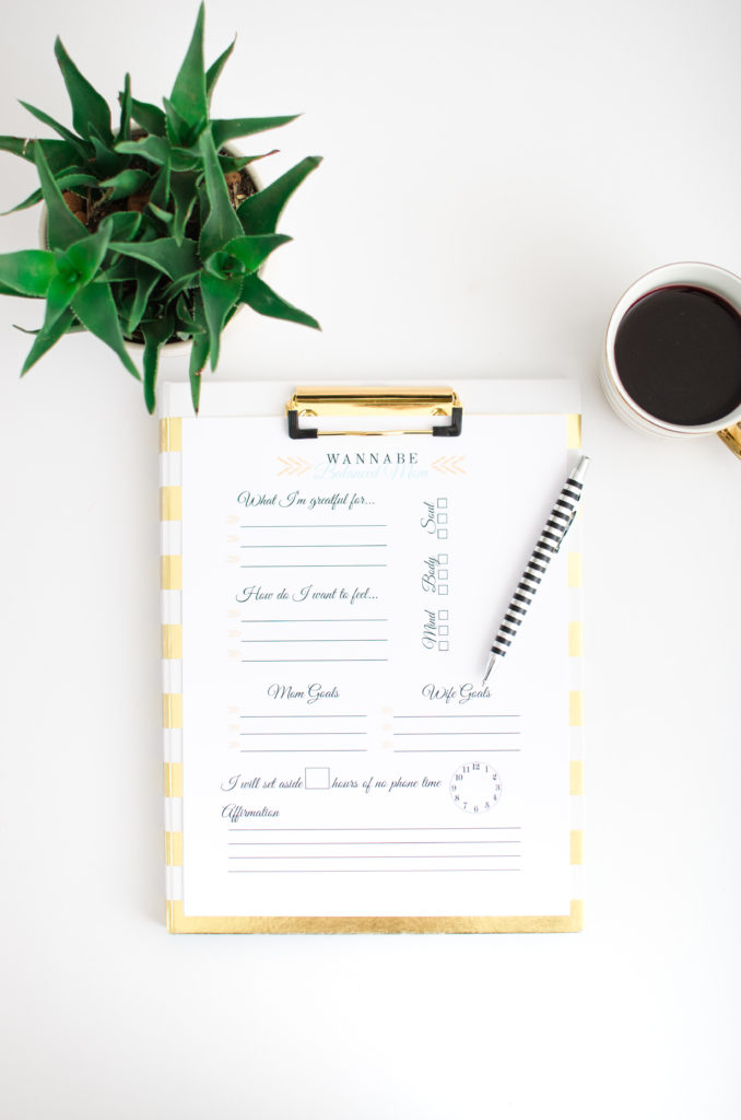 Establishing A Daily Morning Routine by lifestyle blogger Crystal of Wannabe Balanced Mom