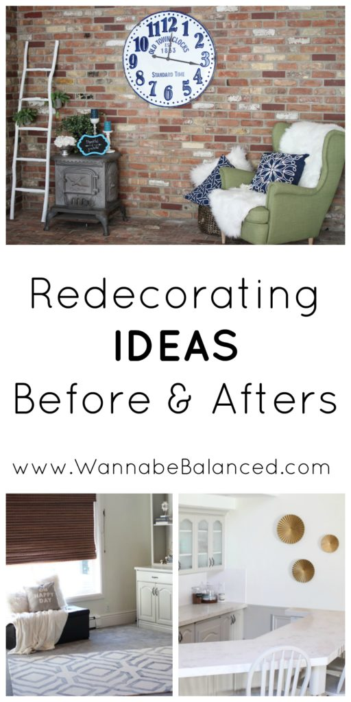 Redecorating: Home Decor from Rod Works & our Rugs USA Living Room Rug by lifestyle blogger Crystal of Wannabe Balanced Mom