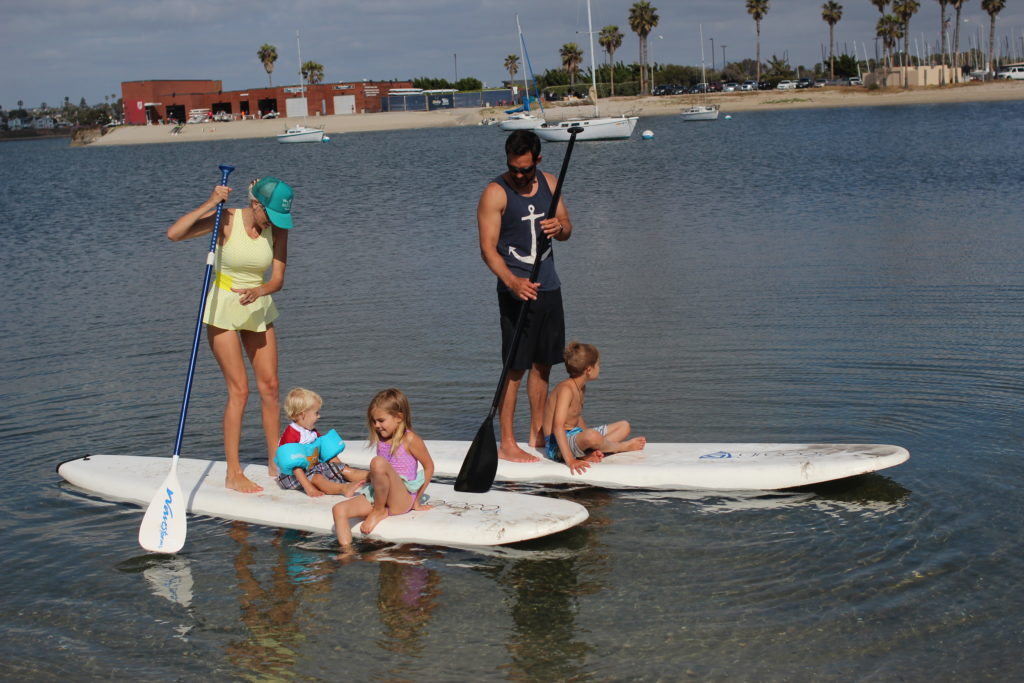 Paddle Board with family
